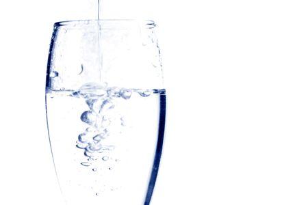 water splash close-up glass refreshing Stock Photo - 5019292