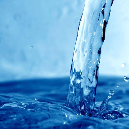 water wet splash macro close up Stock Photo - 5020102