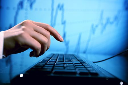 programmer have data info confirmation Stock Photo - 5956315