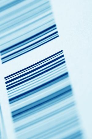 barcodeblack lines on white background photo