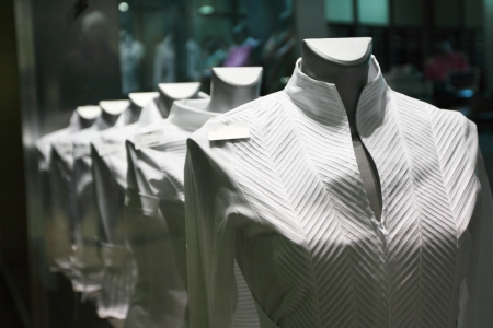 vêtements dans la boutique