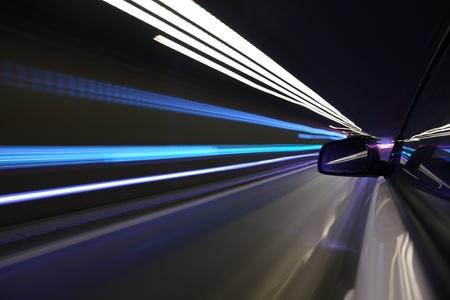 night drive on car Stock Photo - 8453456