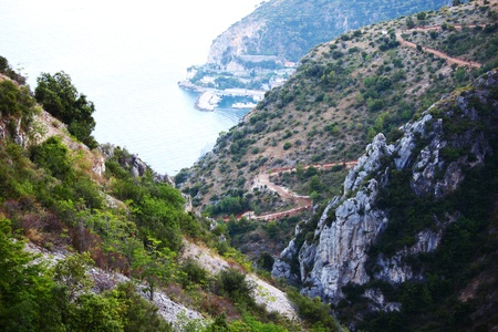 mountains nature background Stock Photo - 8491131