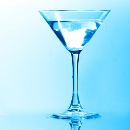 coctail splash on white background close up photo