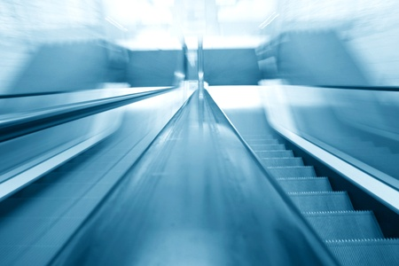bridging: elevator escalator