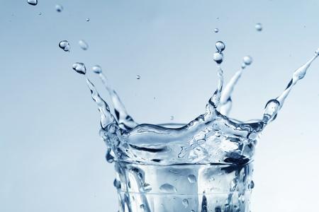 colossal water splash macro close up Stock Photo - 8514827
