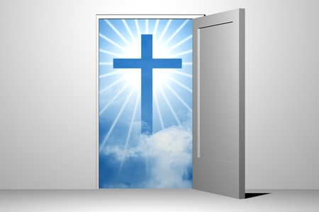 god heaven entrance unreal divine Stock Photo - 8515432