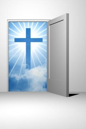 god heaven entrance unreal divine photo
