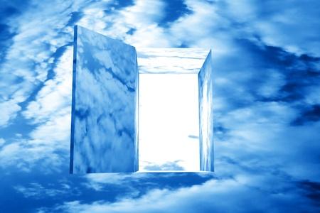 god in heaven: god heaven dream door passage
