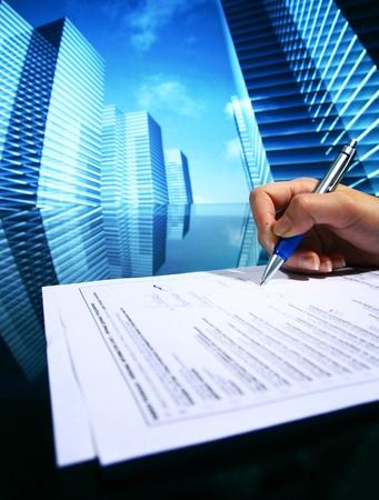 professional presentation business background Stock Photo - 8585175