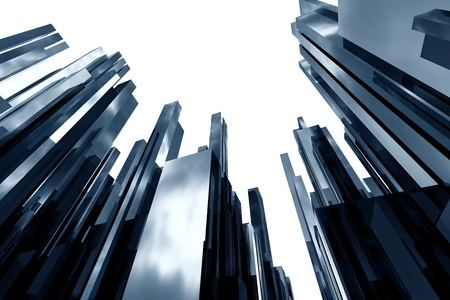 sky scrapers: abstract skyscreapers