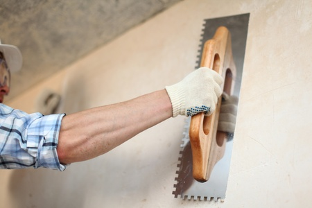 spatula: work aligns with a spatula wall