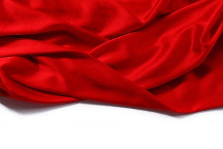 red satin background close up photo