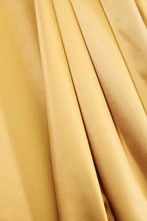gold textile background close up Stock Photo - 8678444