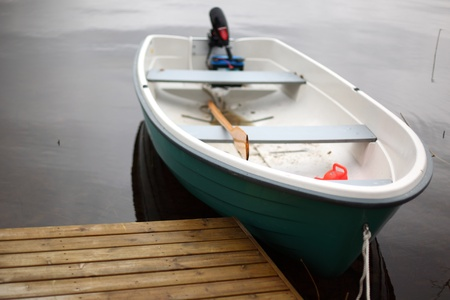 boat in lake nature background Stock Photo - 8678413