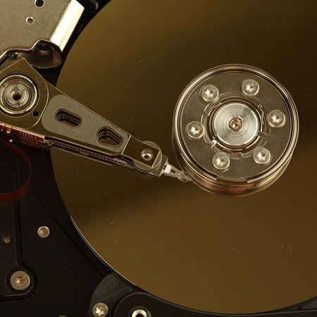 hdd background macro close up Stock Photo - 8743393