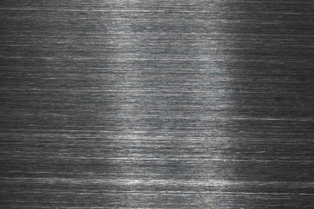 brushed metal: aluminium metal background close up