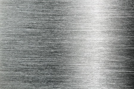 brushed: aluminium metal background close up