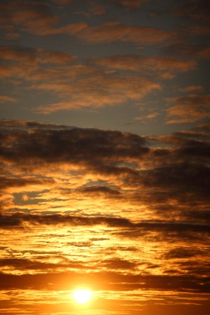 sunrise sky close up nature background Stock Photo
