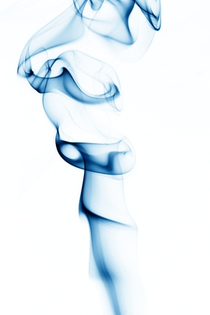 blue smoke abstract background close up Stock Photo - 8739531