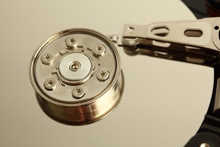 terabyte: hdd background macro close up