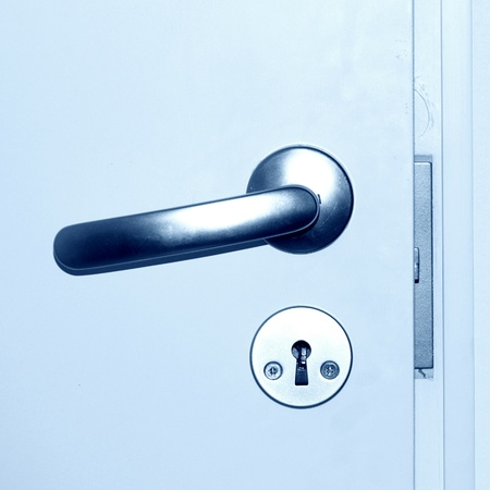 door handle close up Stock Photo - 8751799