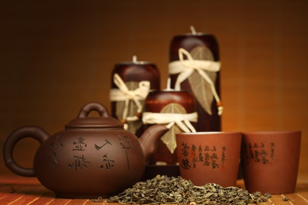china tea background close up photo