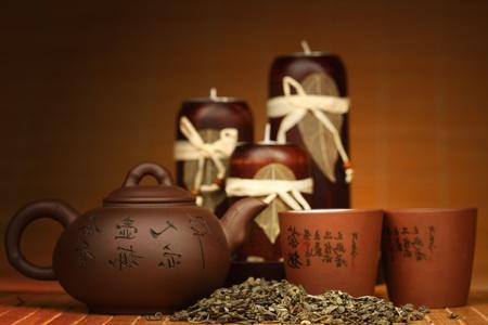 china tea background close up Stock Photo - 8751900