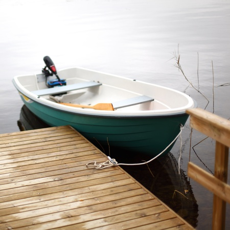 boat in lake nature background Stock Photo - 8751875