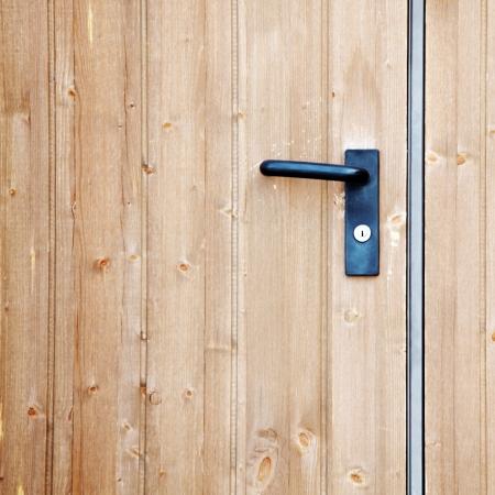 doorhandle on the door close up Stock Photo - 8821897