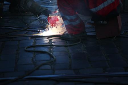 welding macro close up Stock Photo - 8820075