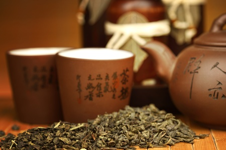 china tea background close up Stock Photo - 8917254