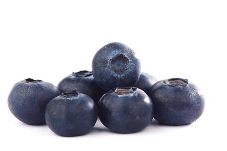 blueberry isolated on white background photo