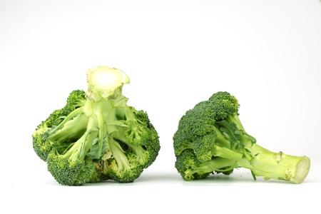 broccoli isolated on white background Stock Photo - 9006190
