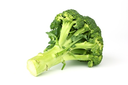 broccoli isolated on white background Stock Photo - 9006187