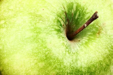 green apple background macro close up photo