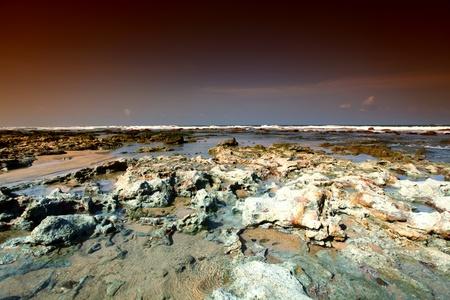 Reef stones an ocean water Stock Photo - 9006695