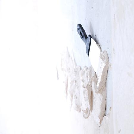 spatula: work aligns with a spatula wall