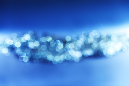 blue bokeh background close up photo