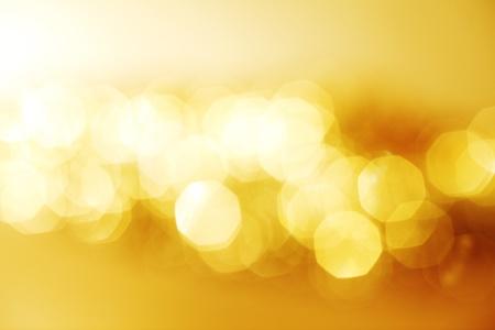 colores calidos: Fondo de oro bokeh cerrar