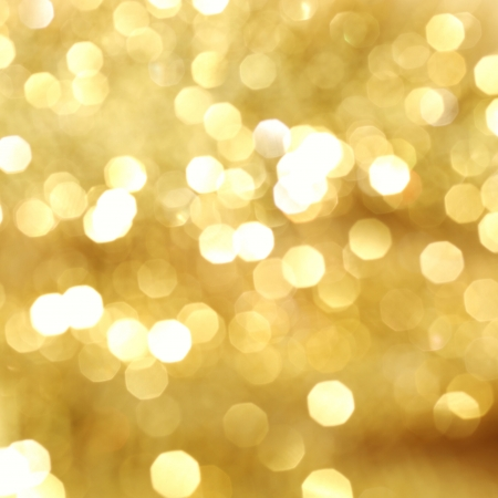 golden bokeh background close up Stock Photo - 9121216