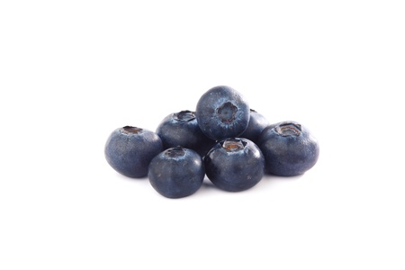 blueberry isolated on white background Stock Photo - 9258484
