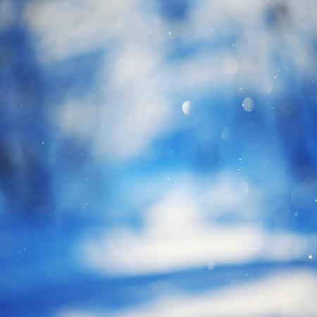 snow background close up photo