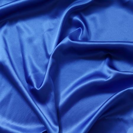 blue silk background close up photo