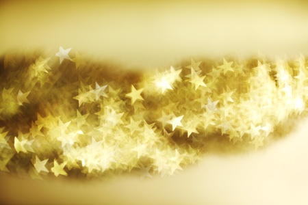 golden star bokeh background close up Stock Photo - 9855766