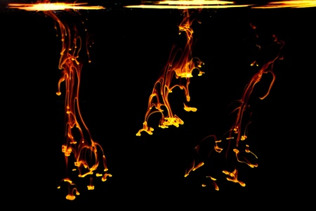 abstract ink background flow in water Reklamní fotografie