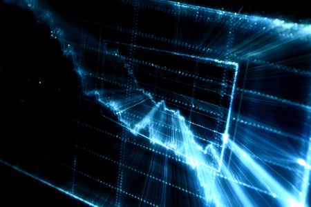 techno graph abstract background marco photo