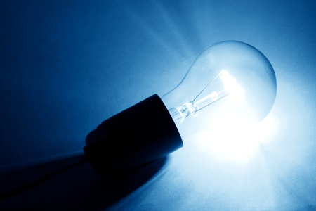 solves: colored bulb macro close up