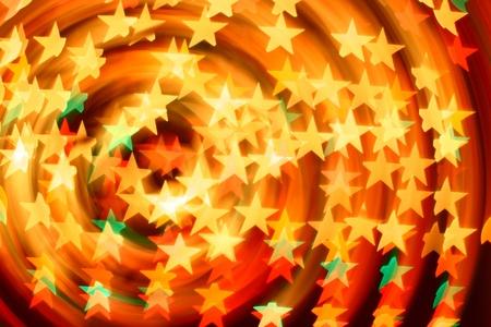 bokeh stars  background abstract macro photo