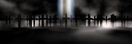 holy cross 3d abstract religion concept Stock Photo - 10022663